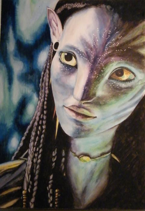 Avatar (film) por Lyr32